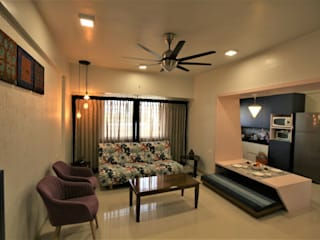 THE ETHNIC HOUSE Classic style living room by Thumbnail Design Classic