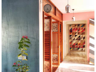 THE LEGACY Tropical style corridor, hallway & stairs by Thumbnail Design Tropical
