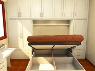 Armadio a ponte Camera da letto in stile classico di Falegnamerie Design Classico
