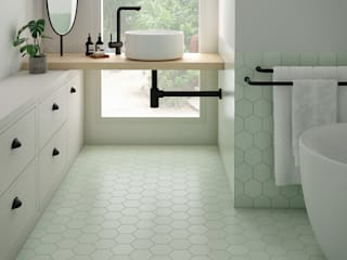 Equipe Ceramicas BathroomDecoration Ubin Green