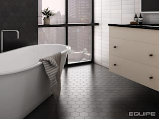 Equipe Ceramicas BathroomDecoration Ubin Black