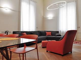 Appartamento Galileo II Soggiorno moderno di G*AA - Giaquinto Architetti Associati Moderno