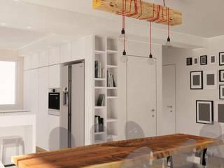 CARLO CHIAPPANI interior designer Minimalistyczny salon