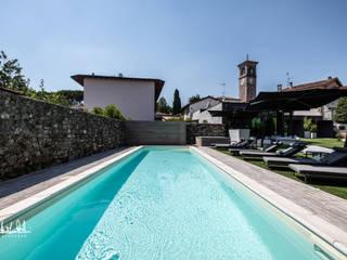 Gli esterni della Locanda al Grop - Tavagnacco (UD) Hotel moderni di Roberto Pedi Fotografo Moderno