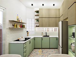 Rancang Reka Ruang Built-in kitchens Green