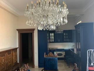 Загородный дом в Ингушетии Bohemia Empir Style Гостиная в классическом стиле