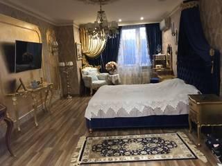 Квартира в Крыму Bohemia Empir Style Спальная комната Кровати и изголовья