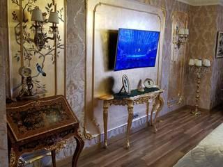 Квартира в Крыму Bohemia Empir Style Спальная комната Освещение