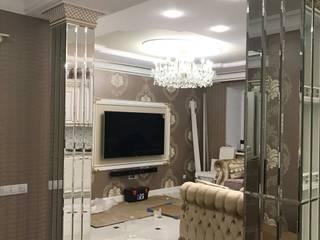 Квартира в городе Воронеж Bohemia Empir Style КухняОсвещение