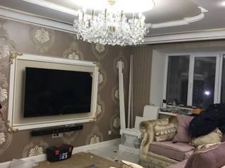 Квартира в городе Воронеж Bohemia Empir Style Гостиная в классическом стиле