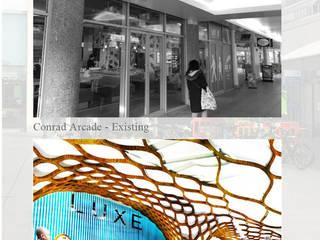 Brunswick Centre, London THINK NATURE , The Arcade Debbie Flevotomou Architects Ltd. Eclectic style shopping centres