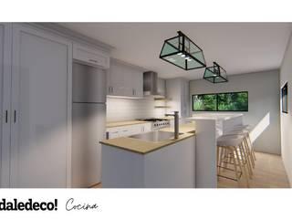 Dale Deco! ห้องครัวขนาดเล็ก White