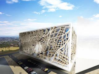 Al Wahah, Middle East Debbie Flevotomou Architects Ltd. Eclectic style office buildings