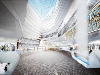 Al Wahah, Middle East Debbie Flevotomou Architects Ltd. Eclectic style shopping centres