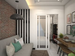 Condominium Projects: minimalist  by D STUDIO  Interior Design & Visualization, Minimalist