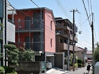 Eclectic style houses by すまい研究室 一級建築士事務所 Eclectic