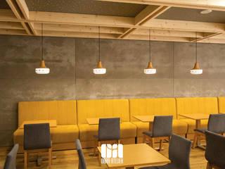Snack Bar & Tapas 25 | Arquitetura requintada, glamorosa e boa comida - Joane, Vila Nova de Famalicão Salas de jantar modernas por OBRA ATELIER - Arquitetura & Interiores Moderno