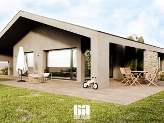 Casa Lote 04, Guimarães por OBRA ATELIER - Arquitetura & Interiores Moderno