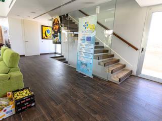 ROMESUR Merdivenler Mozaik Kahverengi