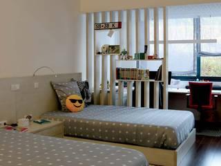 Apartamento da estação, Guimarães Quartos de criança modernos por OBRA ATELIER - Arquitetura & Interiores Moderno