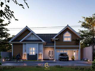 Rancang Reka Ruang Single family home Bricks Brown