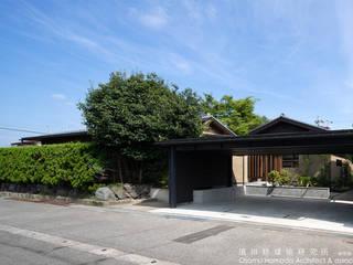 庭を囲む家 の 濱田修建築研究所 和風
