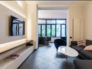 luxury apartment in Milan Cris&Me l.t.d. Modern living room