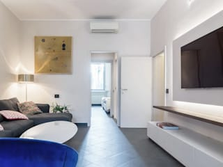 luxury apartment in Milan Cris&Me l.t.d. Living roomTV stands & cabinets