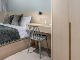 Bill's Design Limited Kamar Tidur Gaya Skandinavia Kayu Grey