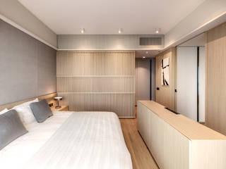 Bill's Design Limited Kamar Tidur Modern Wood effect