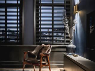 Prinsengracht Moderne woonkamers van Studio Mariska Jagt Modern