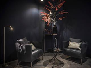 Salon residence Laren Moderne woonkamers van Studio Mariska Jagt Modern