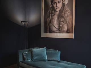 Salon residence Laren Moderne serres van Studio Mariska Jagt Modern