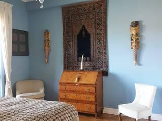 Clointeriors- Claudio Corsetti Modern style bedroom Blue