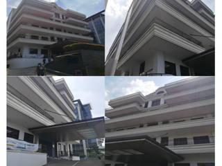 Gedung Perkantoran RUMAH BERKAT SEJAHTERA Bangunan Kantor Klasik Beton Bertulang White