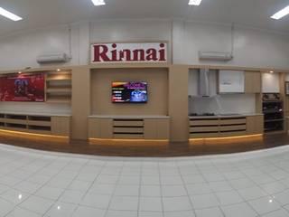 RINNAI Indonesia RUMAH BERKAT SEJAHTERA KitchenCabinets & shelves Kayu Lapis Wood effect
