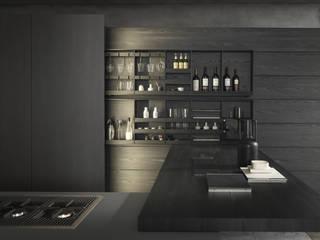 Cozinha Modulnova MH6 por Leiken - Kitchen Leading Brand Minimalista