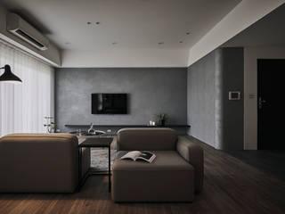 Livings modernos: Ideas, imágenes y decoración de 寓子設計 Moderno