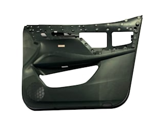 Taizhou Huangyan Yuantu Mould Co., Ltd. أبواب رئيسية بلاستيك Black