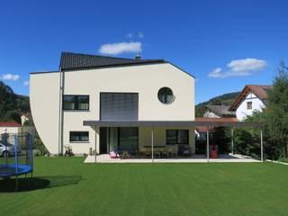 archipur Architekten aus Wien Single family home Bricks Yellow
