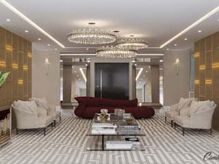 Salones modernos de Camila Pimenta | Arquitetura + Interiores Moderno
