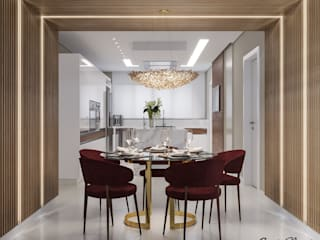 Camila Pimenta | Arquitetura + Interiores Kitchen units Wood Beige