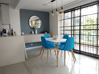 Modern dining room by Naromi Design Modern