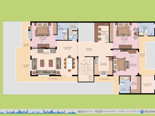 Ecoinch Services Private Limited Modern houses