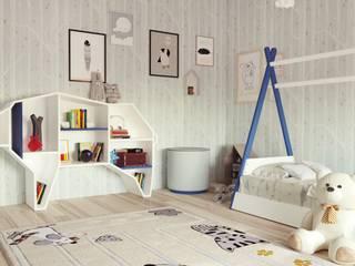 Madeira Negra Nursery/kid's roomStorage MDF Blue