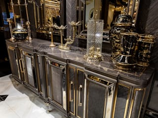 Classical Luxury Dining Room Furniture: classic  by Urban Style,Classic