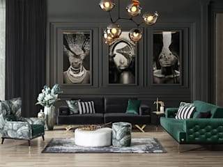 Modern Living Room Furniture: modern  by Urban Style,Modern