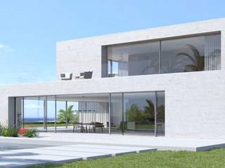 VETRATE GRANDI DIMENSIONI LE.ALL.FER. S.r.l. Villa Alluminio / Zinco Grigio