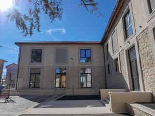 LE.ALL.FER. S.r.l. Fenêtres en bois Aluminium/Zinc Gris