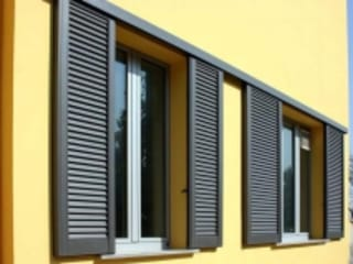 LE.ALL.FER. S.r.l. Shutters Aluminium/Zinc Brown